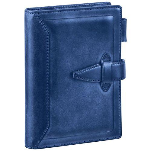 ダヴィンチ システム手帳 ロロマクラシック (ポケット)14mm ブルー