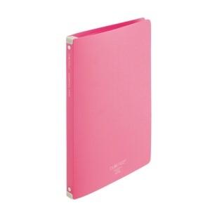CUBE FIZZ ホルダーファイル<ワイヤ式>ピンク-