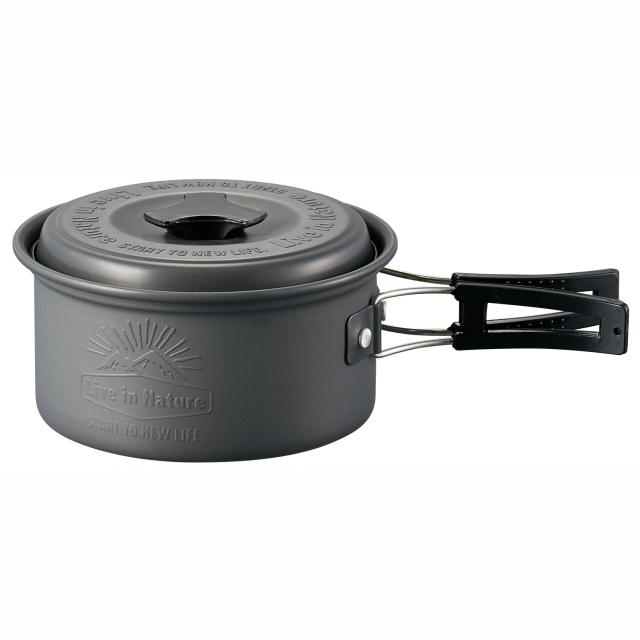 フタ付アルミ鍋 13cm