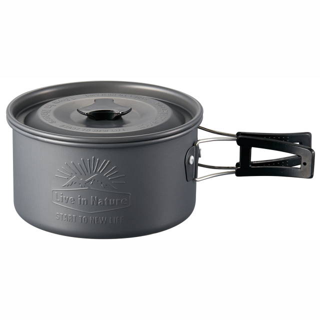 アルミ製鍋フタ付き16cmLIVENATURE