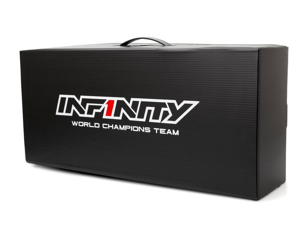 [A003] INFINITY PLASTIC CARDBOARD BOX (47x21.5x13cm)