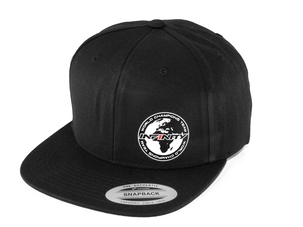 [A0059-B] INFINITY Round Logo Cap