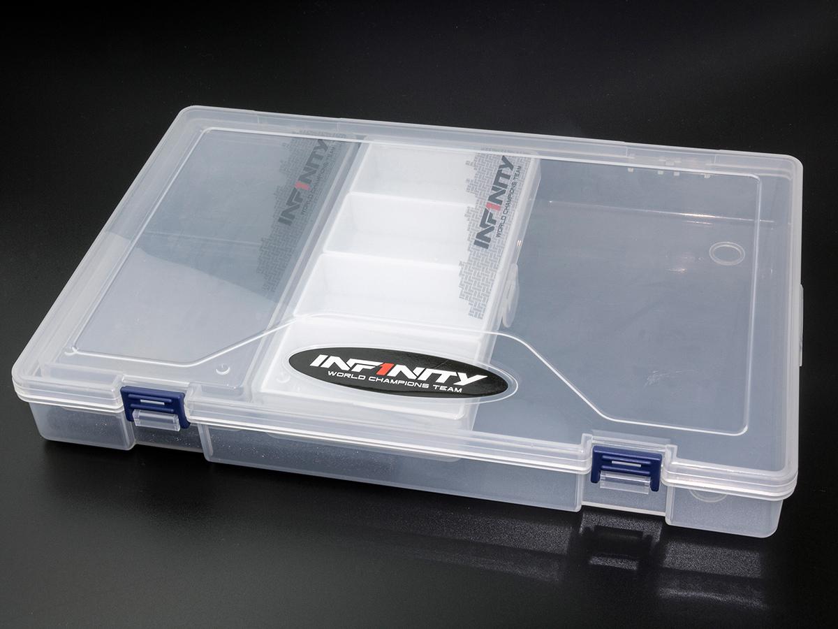 [A0085] INFINITY PARTS CASE SET (with lid 2divide, 4divide each 1pc)