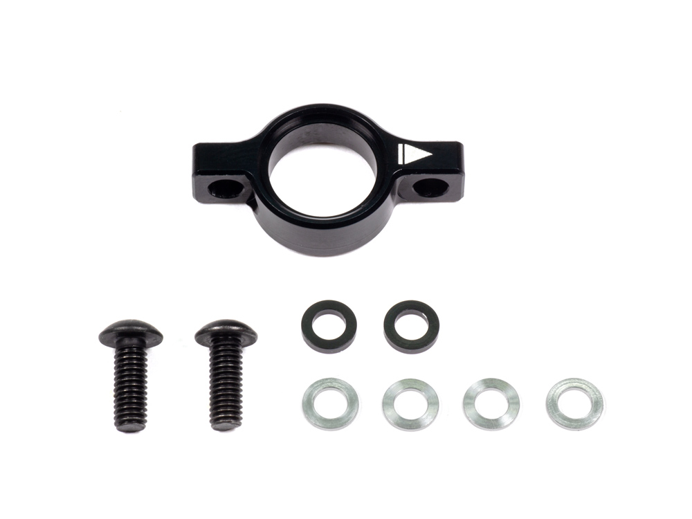 [F065] ALU AXLE HEIGHT ADJUSTER SET (Black/incl.Washer)