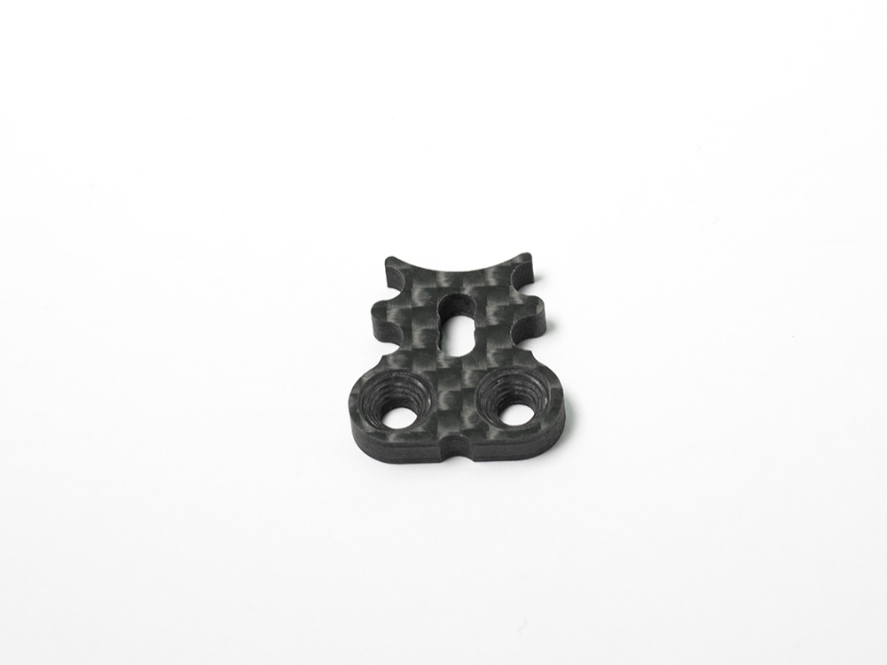 [R0217-09] SERVO SAVER NOSE (09mm) CARBON GRAPHITE
