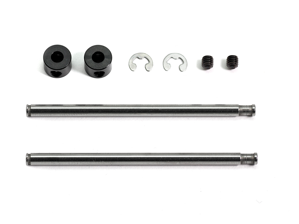 FRONT UPPER SUS SHAFT SET (STOPPER TYPE)