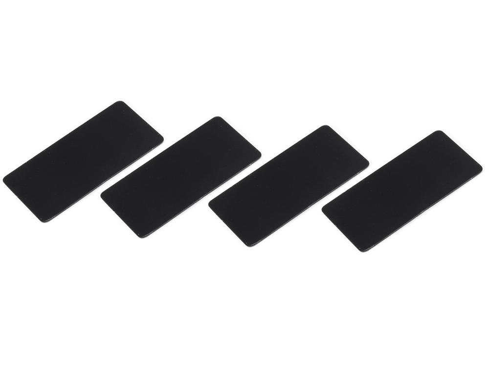 [SMJ1141B] WING ENDPLATE for 1/10 Touring Car (Black/0.5mm/4pcs)