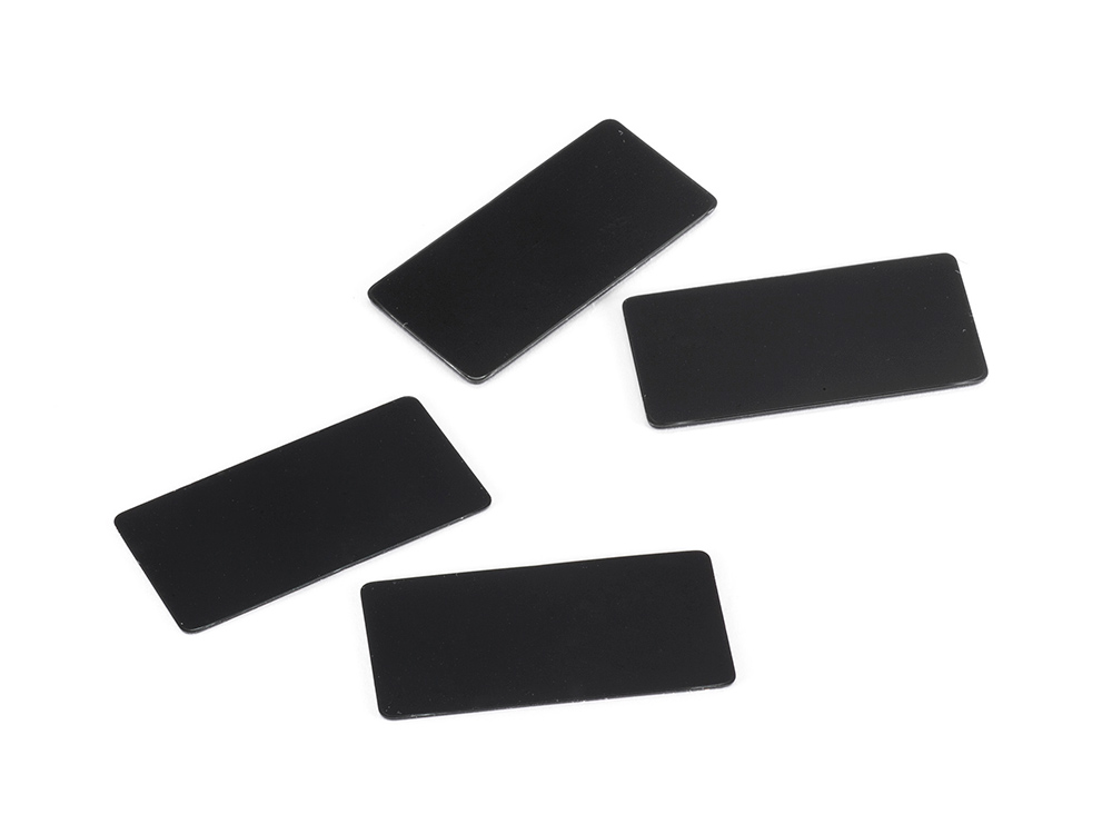 [SMJ1141] WING ENDPLATE for 1/10 Touring Car (Black/0.8, 0.5mm/each2pcs)