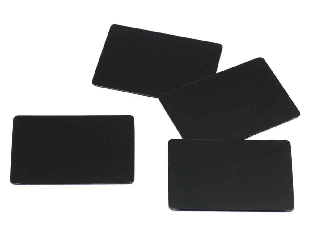 [SMJ1153] WING ENDPLATE for 1/10GP Touring (Black/0.8mm/4pcs)