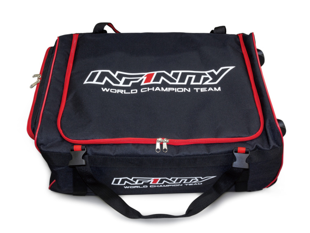 [A0067] INFINITY JUMBO TROLLEY BAG (with Plastic Cardboard Box 4pcs)