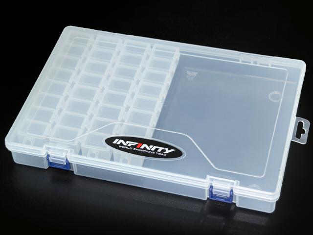 [A0077-4] INFINITY SMALL PARTS CASE SET (8 Compartments/4pcs)