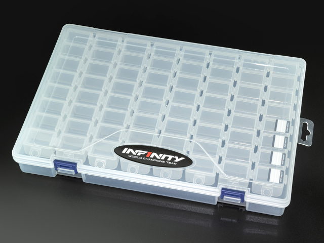 [A0077-8] INFINITY SMALL PARTS CASE SET (8 Compartments/8pcs)