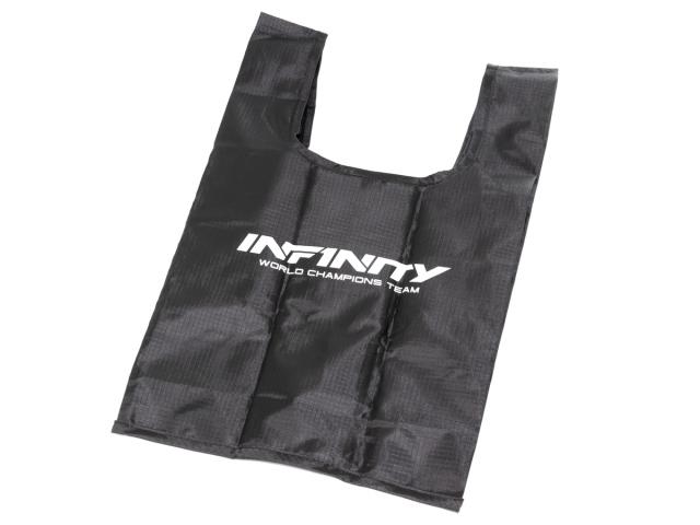 [A0078] INFINITY FOLDABLE TOTE BAG mini (Black)