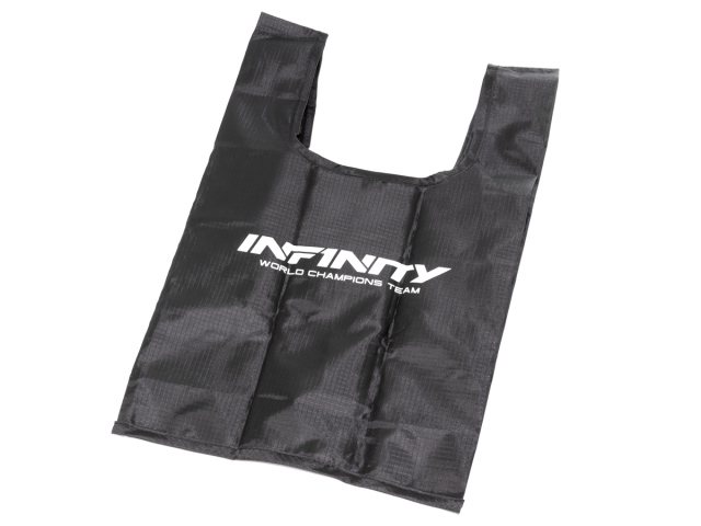 [A0078] INFINITY FOLDABLE TOTE BAG mini (Black)