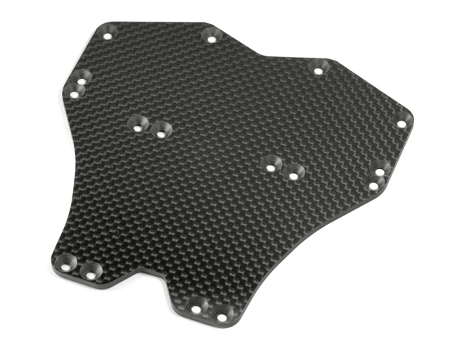 [F045] GRAPHITE MAIN CHASSIS PLATE