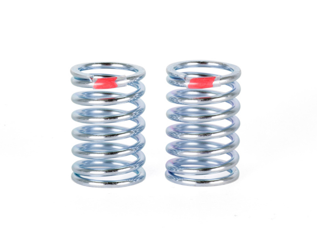 [SMJ1137] SILVER LINE SPRING RL7.2 (Long/Red/2pcs)