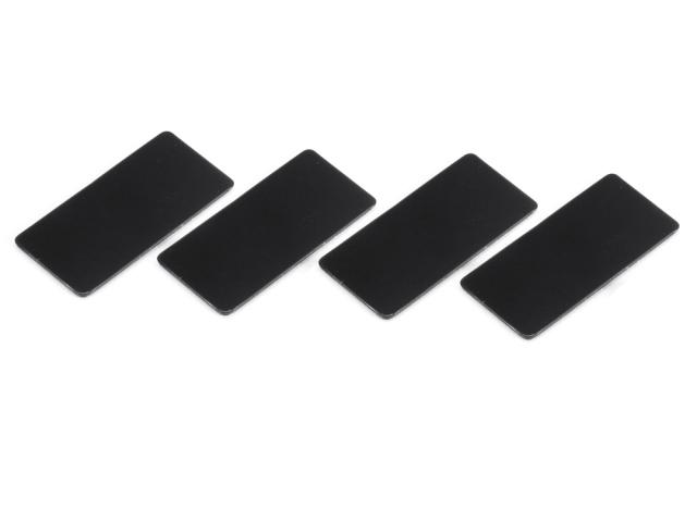 [SMJ1141C] WING ENDPLATE for 1/10 Touring Car (Black/0.8mm/4pcs)