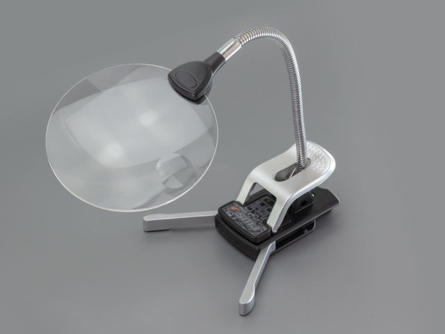 [SMJ1195] SMJ GG Magnifying Glass (LED Light/x2.5, x8)