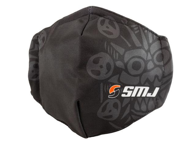 [SMJ1301] SMJ TEAM FACE MASK (Black)