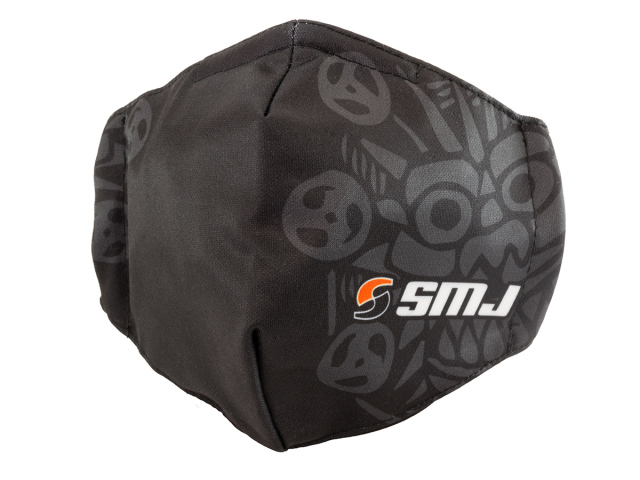 [SMJ1301] SMJ TEAM FACE MASK (Black)