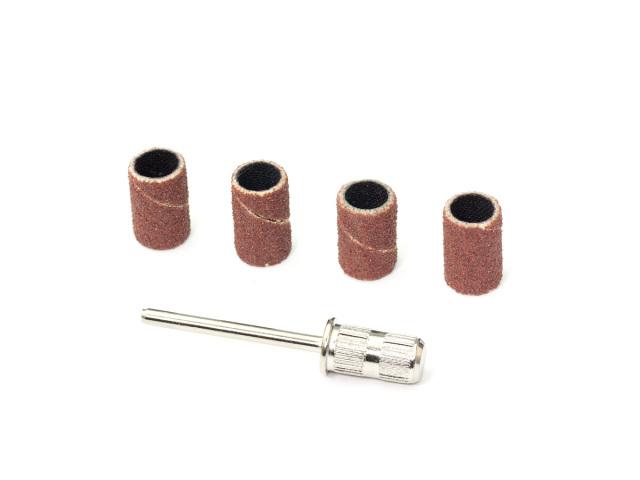 [SMJ1316] 6.3mm SANDING BAND SET (Mandrel x1, Sanding band x4)