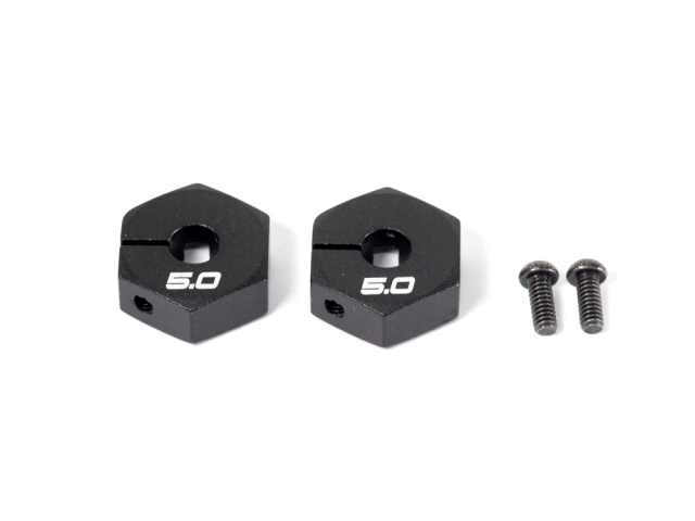 [T043B] ALU HEX WHEEL HUB (5mm/2pcs/B)