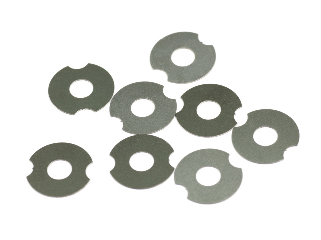 [T143] WHEEL SHIM 0.25mm (SUS/8pcs)