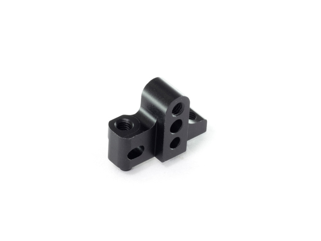 [T180-L44.5] ALU SEPARATE LOWER SUSPENSION BLOCK -Left -44.5mm (Black)
