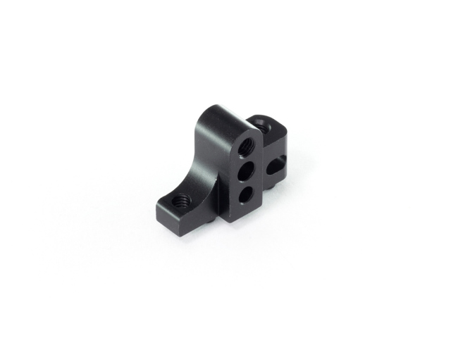 [T180-R44.5] ALU SEPARATE LOWER SUSPENSION BLOCK -Right -44.5mm (Black)
