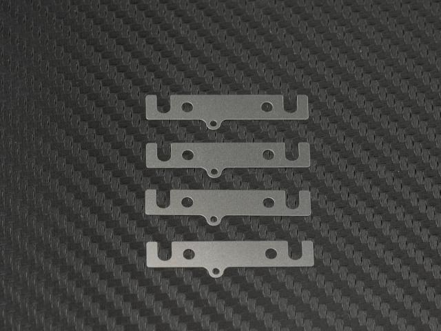 [T198-0.2] LOWER SUSPENSION BLOCK SPACER 0.2mm (SUS/4pcs)