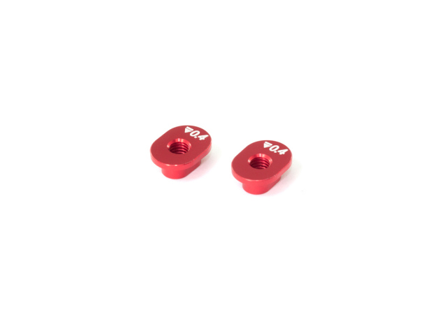 [T222-0.4] ALU SHOCK MOUNT BUSHING 0.4mm (2pcs)