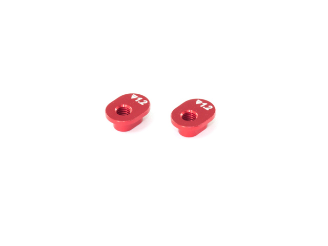 [T222-1.2] ALU SHOCK MOUNT BUSHING 1.2mm (2pcs)