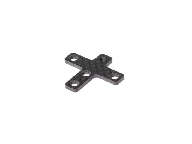 [T223] GRAPHITE REAR CHASSIS STIFFENER 2.0mm