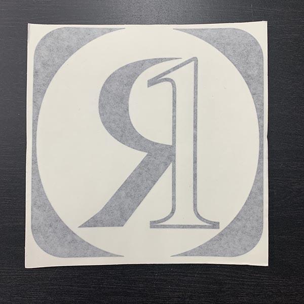 "Ronix 7"" Icon Die Cut"