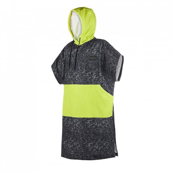 Poncho Allover Black/Lime