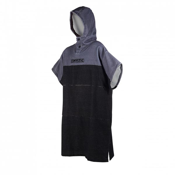 Poncho Black/Grey