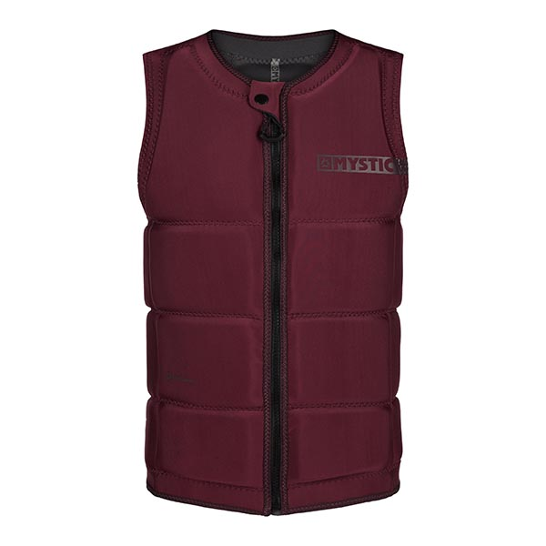 Star Impact Wakeboard Vest Oxblood Red