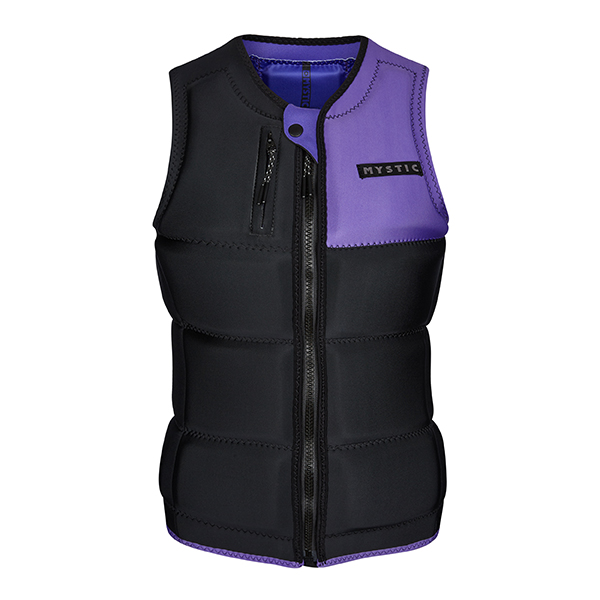 Dazzled Impact Vest Black/Purple