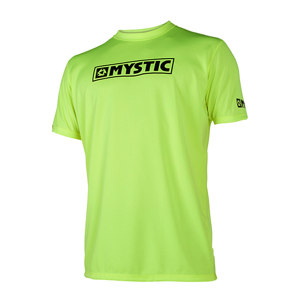 Star Short Sleeve Quickdry Lime