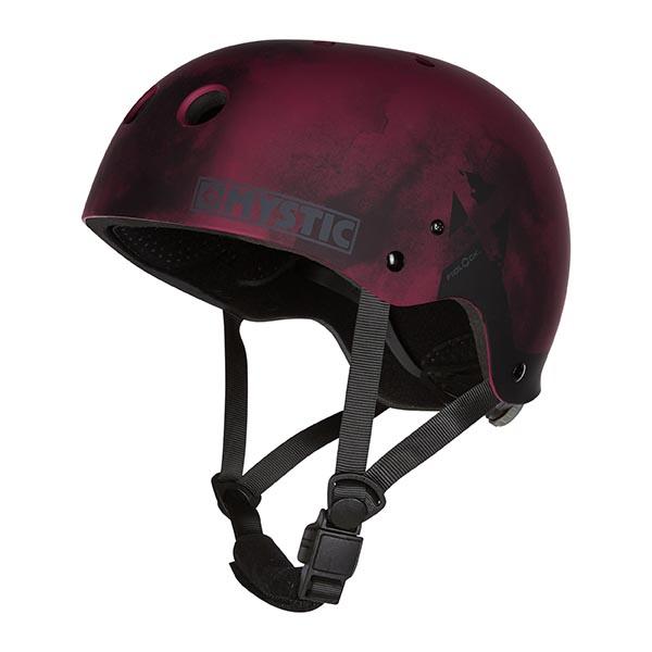 MK8 X Helmet Oxblood Red