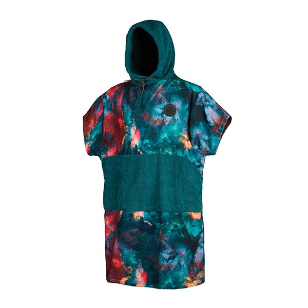 Poncho Allover Teal