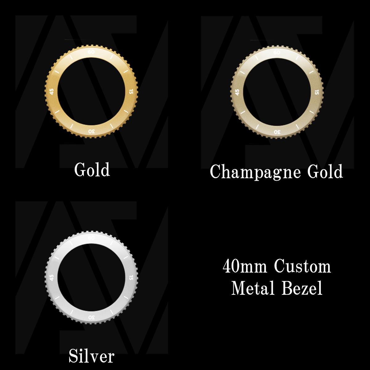 VALIANT Custom Metal Bezel 40mm(各色)