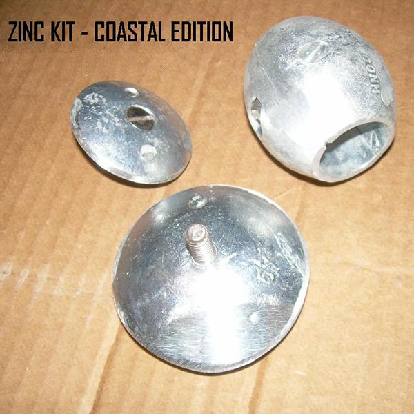 DISC ZINC ANNODE ( LARGE ) FOR RUDDER