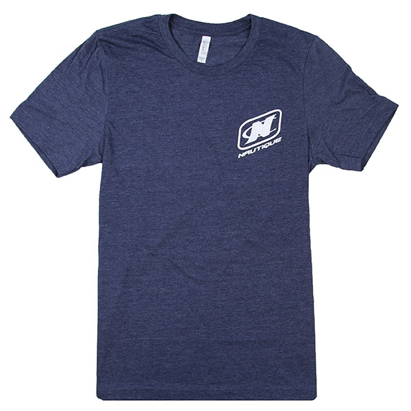 Nautique Horizon Tee Heather Midnight Navy