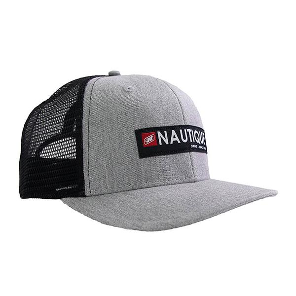 Nautique Crate Step Cap Grey Heather/Black