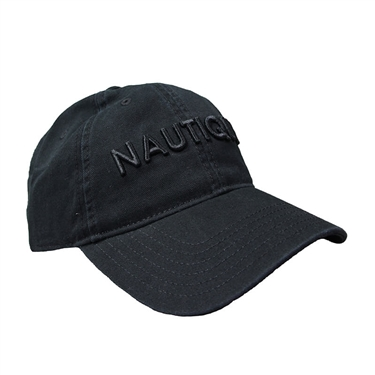 Nautique Profile Cap Black