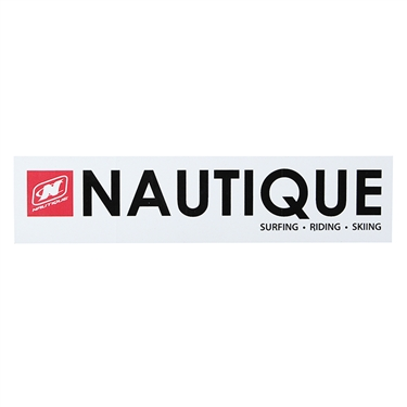 Nautique Window Sticker 8Inch Wide