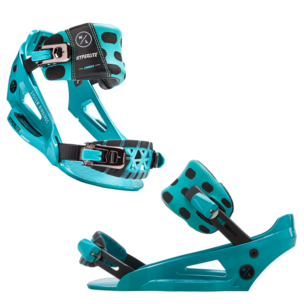 HYPERLITE System Lowback Binding Teal