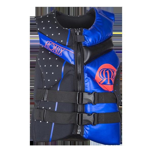 RONIX Quarter Til Midnight Women's Capella Front Zip CGA Life Vest