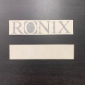 Ronix  Logo Die Cut